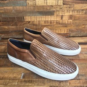 Banana Republic Men's Laser Cut Slip Ons